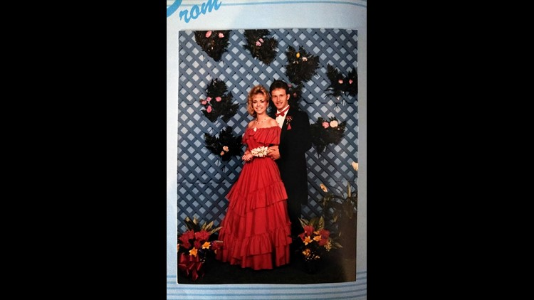 Denise Camp, now 51, still has her prom pictures.