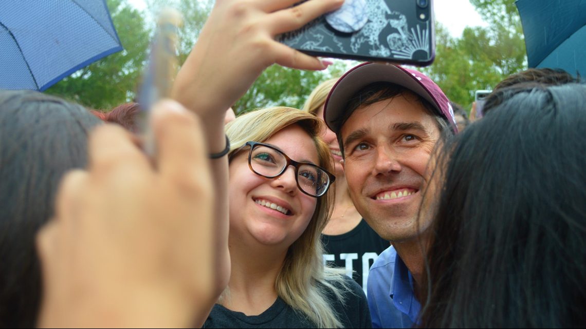 Beto O Rourke Rallies Campaign Support In College Station