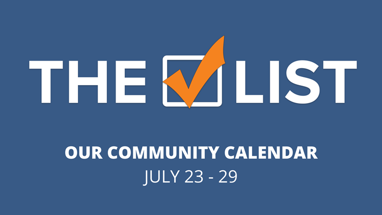 Willy Wonka and Christmas in July: The Check List for July 23-29