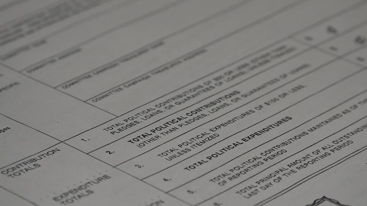 Texas Candidate Financial Disclosure Form