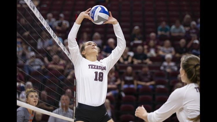 Texas A&M Volleyball Set for Matchup with No. 1 Texas