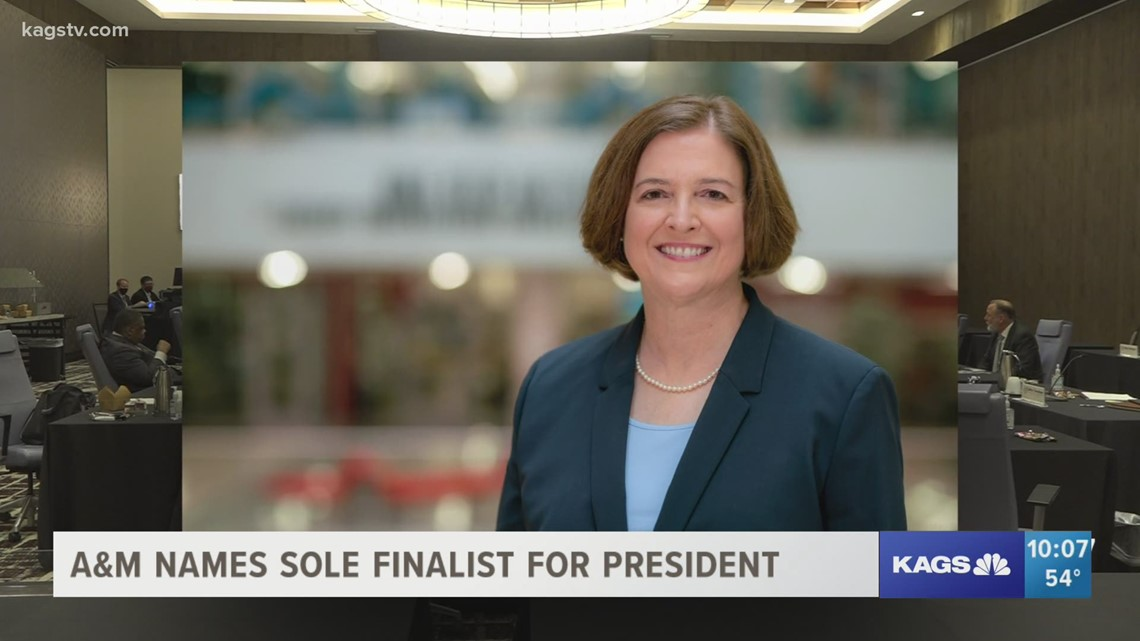 Texas A&M names Dr. M. Katherine Banks as sole finalist for President