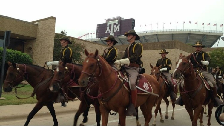 Texas A&M University's Parsons Mounted Cavalry (PMC) has been invited to ride in the 130th Rose Parade.