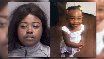 Police found missing two-year-old's clothes in dumpster near park where she went missing