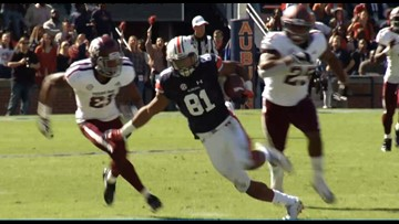 Auburn Scores 14 Unanswered Points to Hand Texas A&M Its Second Straight Road Loss