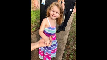 UPDATE: 4-year-old girl's family located, police say