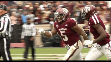 Texas A&M football snaps two-game skid, defeats Ole Miss 38-24