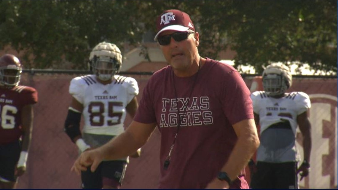 Texas A&M assistant Tim Brewster leaving to join Mack Brown at North Carolina