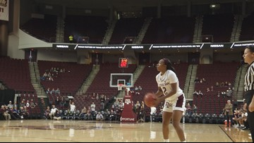 Aggies roll to 57 point win; biggest margin of victory since 2015-2016 season