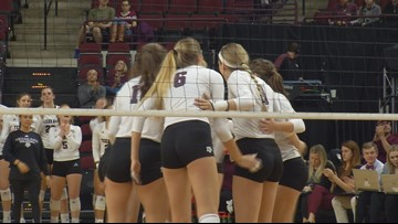 Texas A&M's Hollann Hans Named AVCA All-American