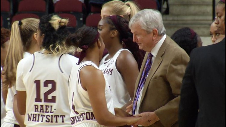Texas A&M women's basketball in Maui for two games