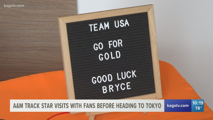 Thanks to Orangetheory Fitness, fans got to meet a local Olympian before he heads off to Tokyo