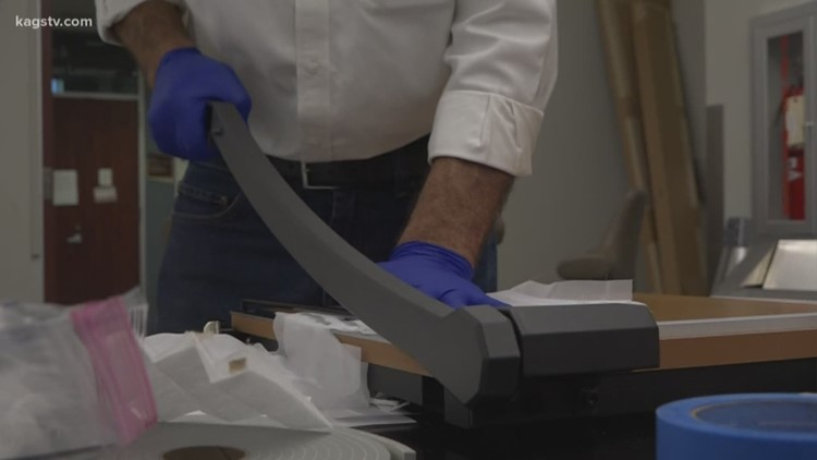 Texas A&M engineers testing DIY protective medical masks for health care professionals