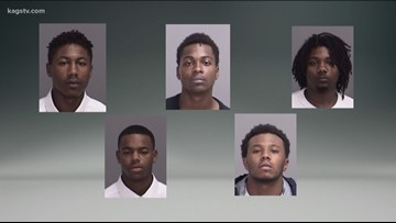 Five aggravated robbery suspects in custody in College Station