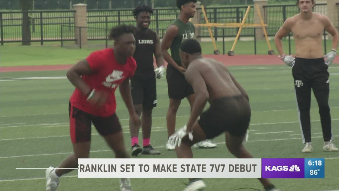Franklin set to make State 7-on-7 Tournament debut