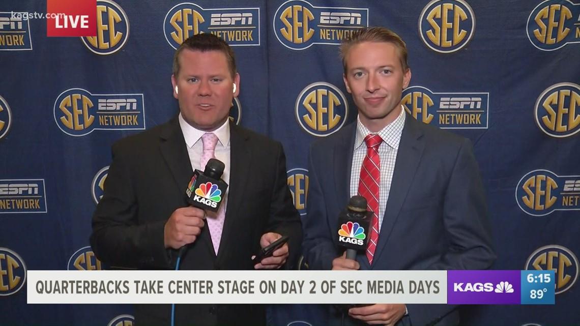 Quarterbacks shine on Day 2 of SEC Media Days
