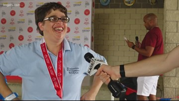 Local Special Olympics athletes shine