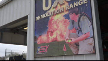 'Pay attention because it could save your life': TEEX class learn to safely detonate an explosive