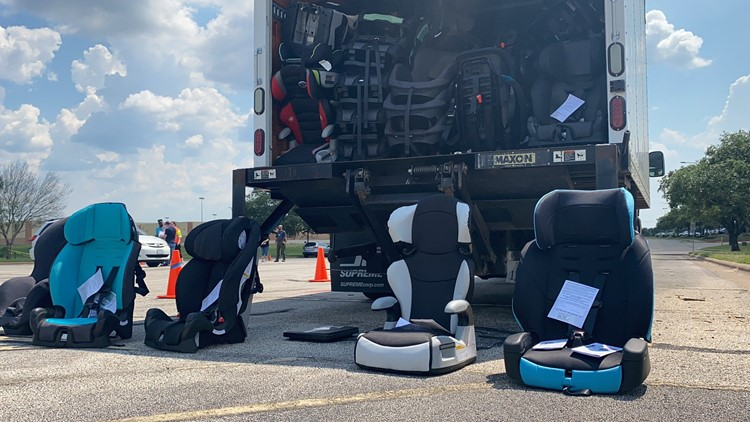 Thursday event brings awareness to child car seat safety and more