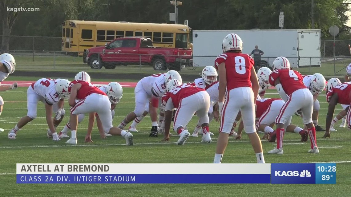 Bremond falls to Axtell 36-28, falls to 0-2 on the young season