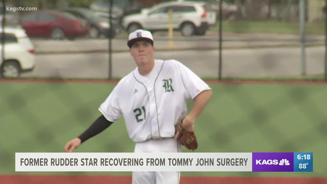 Rudder star Hunter Dobbins feeling good after Tommy John surgery