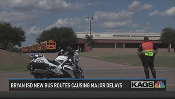 Bryan ISD bus route changes impacting families