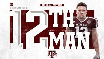 Texas A&M's Braden White Named the 12th Man