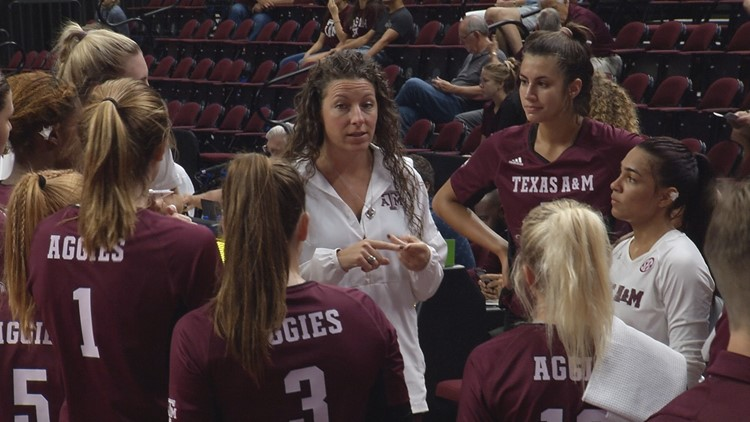 Aggies Win Sixth Straight with Sweep of Bobcats