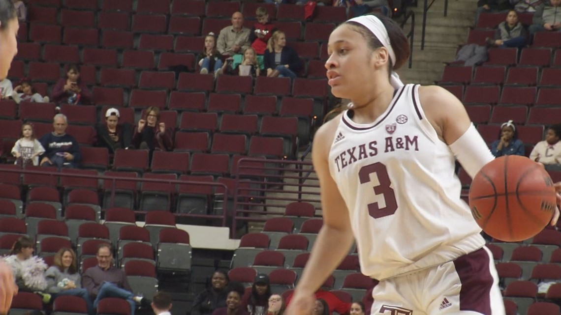 (11) Texas A&M women hand TCU first loss of the year