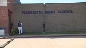 UPDATE: Students allowed to return to Navasota High School, classes resume as normal