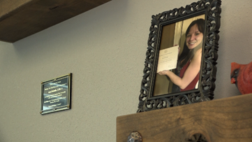 """""""Our Anya"""": Local recovery center dedicates therapy room to late employee"""