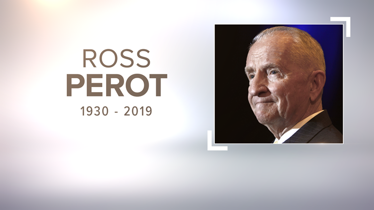 Memorial service Tuesday for Ross Perot in Dallas