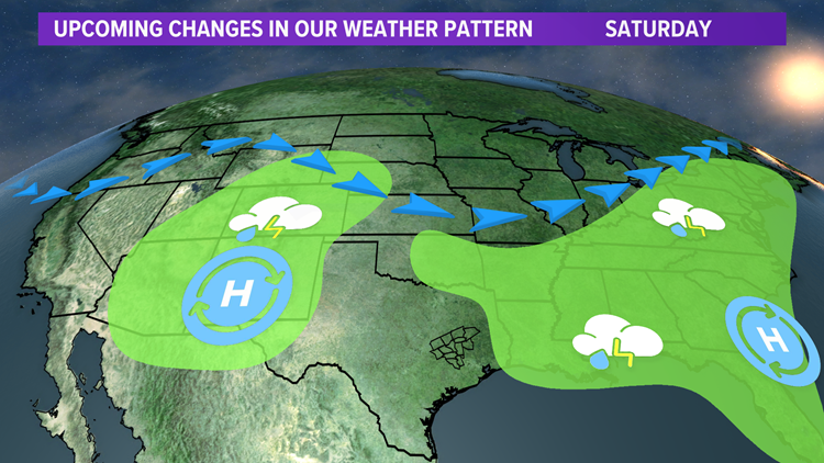 Bob's Forecast: Very low rain chances throughout the weekend