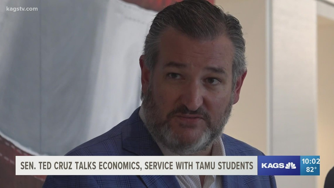 Senator Ted Cruz talks COVID, Afghanistan and the Bush legacy at Texas A&M