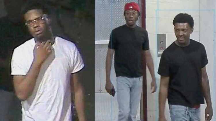 Texas A&M PD releases photos of persons of interest in vehicle burglary investigation
