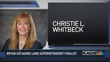 Bryan ISD names finalist for Superintendent