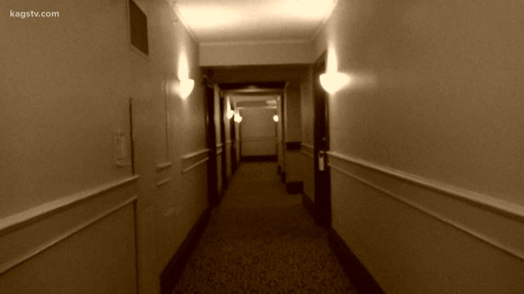 Do spirits check in and never check out at the LaSalle Hotel in Bryan?