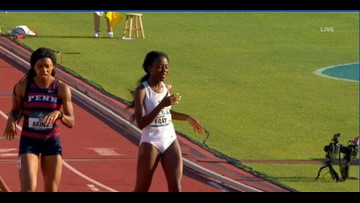 A&M Track and Field sweeps 4X400 relay, Fray claims gold in 800m
