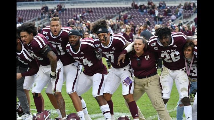 Texas A M Football Ranked 13th In Preseason Amway Coaches Poll Kagstv Com
