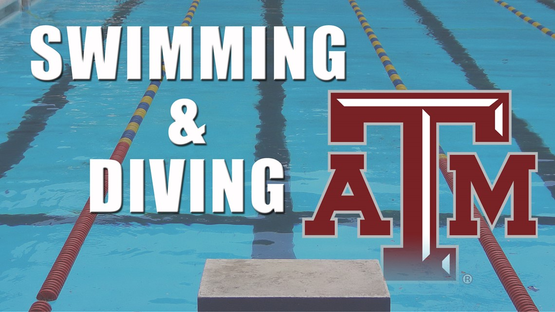 Texas A&M Swimming Sweeps LSU