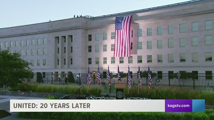 Survivors of the September 11th Pentagon attack reflect 20 years later