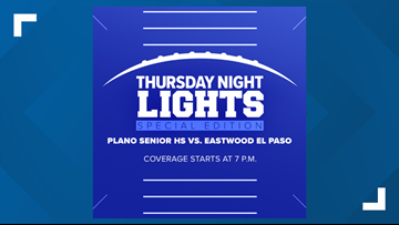 KAGS to livestream El Paso Eastwood vs. Plano football game tonight