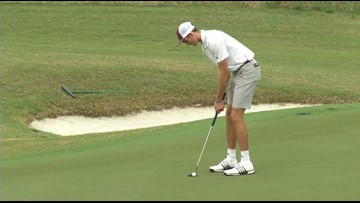 A&M golf in third place as Aggie Invitational suspended due to darkness