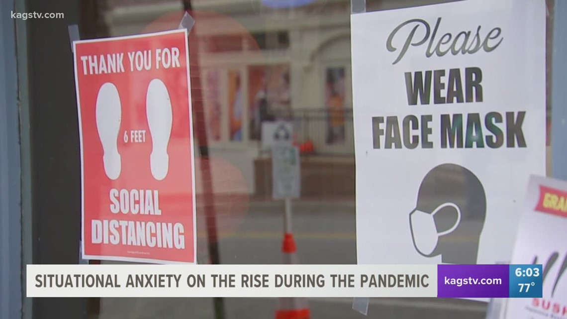Situational anxiety on the rise due to the pandemic
