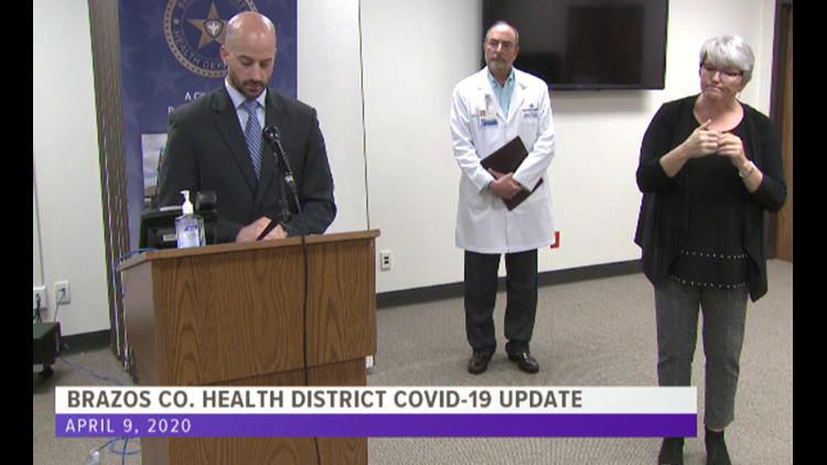 KAGS Breakdown: Brazos Co. gives COVID-19 update on numbers, recovery, CDC recommendations