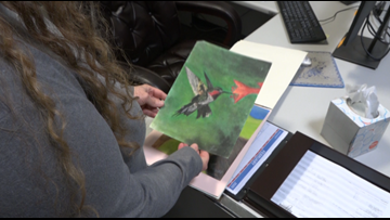 Healing HeART: Power of creativity helps woman recover after heart attack