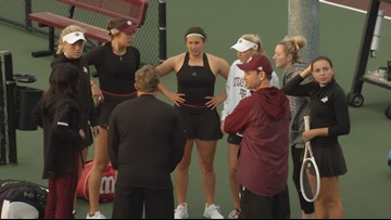 No. 19 Texas A&M Women's Tennis Falls to No. 1 Georgia in SEC Tournament Semifinals