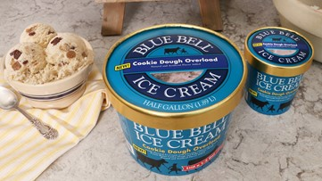 Can you dough it? Blue Bell reveals new Cookie Dough Overload flavor