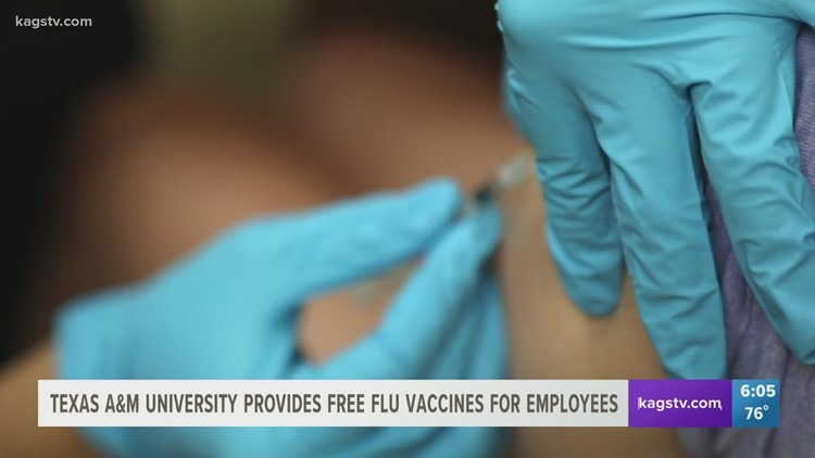 Texas A&M offering free flu clinics on campus