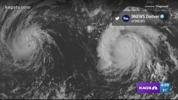 Bob's Weather Why's: What happens if two hurricanes get too close together?